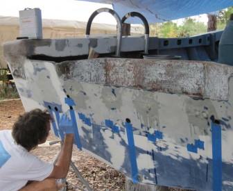Sealing Transom Holes