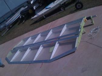 Sunfish Wingsail Assembled