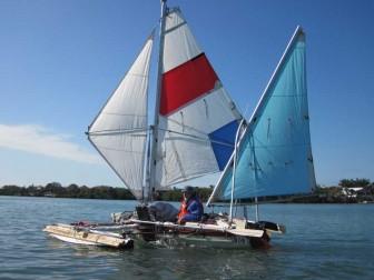 Bob Sailing Closeup