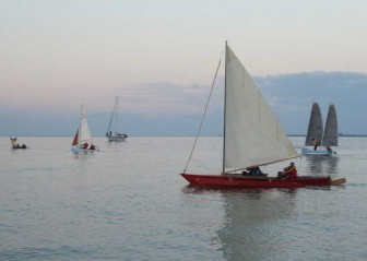 Trimarans and Core Sound 17
