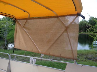 Bimini Mesh Side Panel