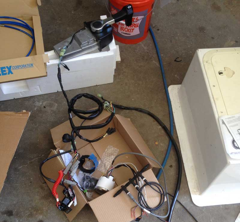 Repowering the Old Pontoon Boat