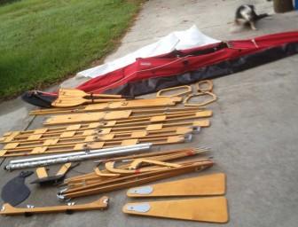 Klepper Kayak Pieces