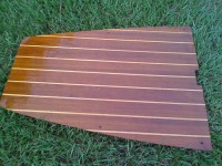 A Teak and Sandy Sole