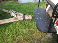 Golf Cart Rear Seat Trailer Hitch Installation
