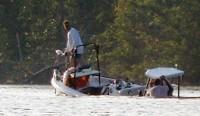 Watching a Fishing Boat Sink While Sailing My Kayak