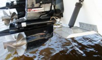Power Tilt and Trim for Large Outboard and Sterndrive Boats